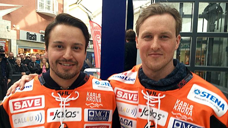 Alexander Deilert och Marcus Paulsson.