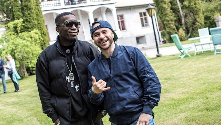 Ison och Fille ska spela i Karlskrona på Skärgårdsfesten.