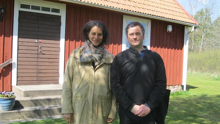 Sabina Jallow och Stefano Grazioni