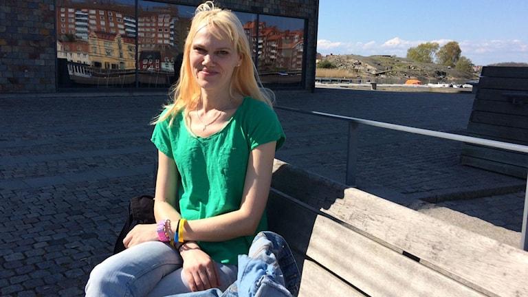 Tiina Oras tvingas pendla från Kalmar till jobbet i Karlskrona.