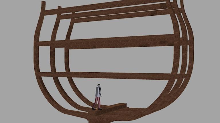 stapelbädd örlogsvarvet i Karlskrona skiss