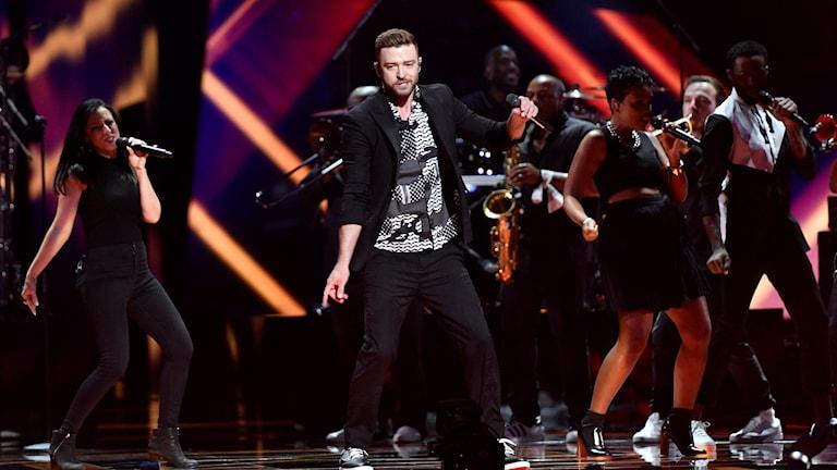 Justin Timberlake framträder på Eurovision Song Contest
