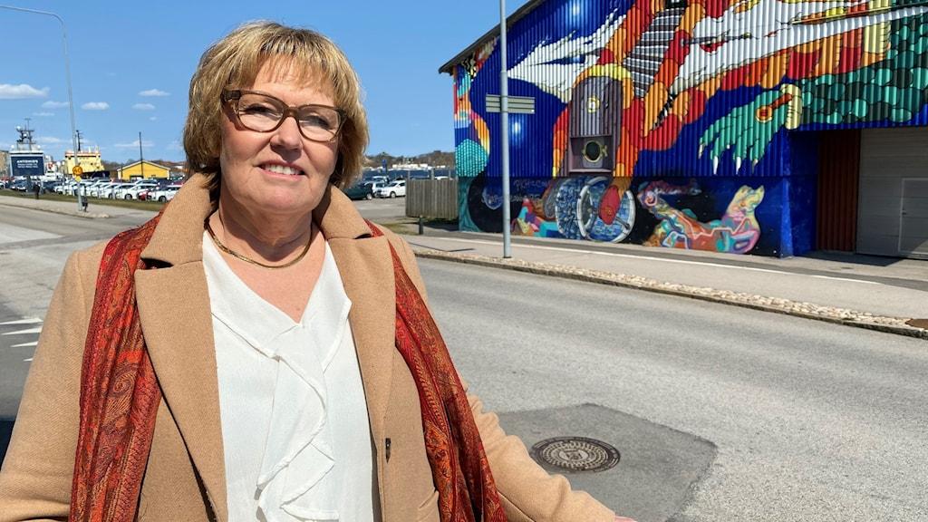 Birgitta Jönsson som är enhetschef för överförmyndarsamverkan mellan de tre kommunerna.