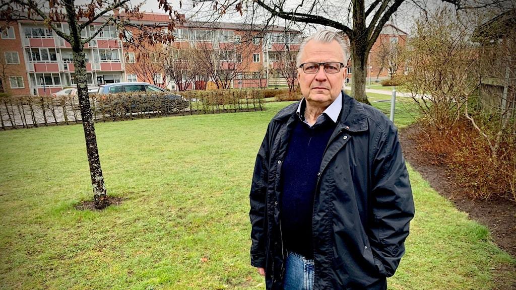Jan Söderman som Säkerhetsansvarig Olofströms kommun