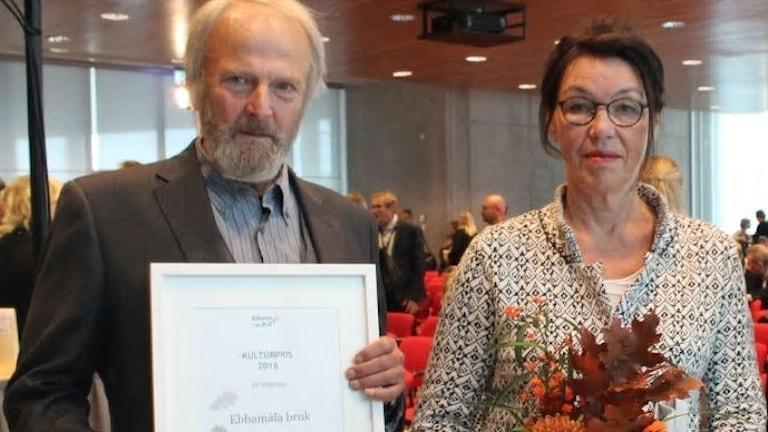 Anders och Anna-Karin Randver Ebbamålabruk