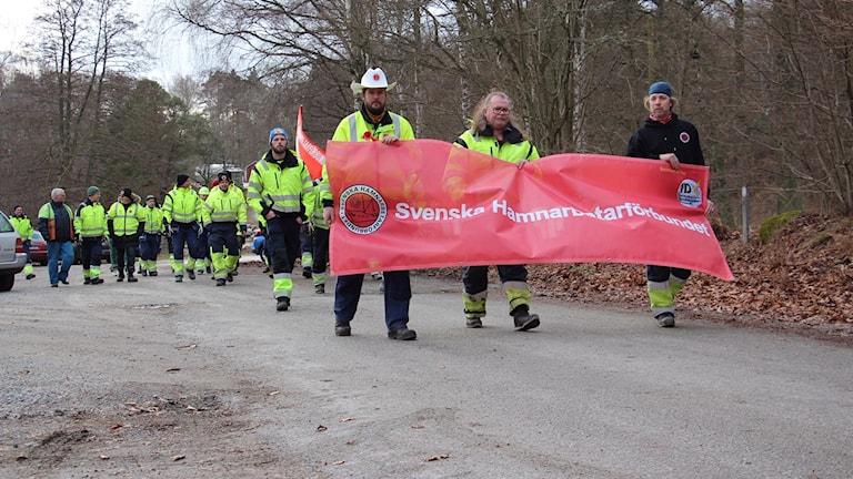 Hamnarbetarförbundet strejk