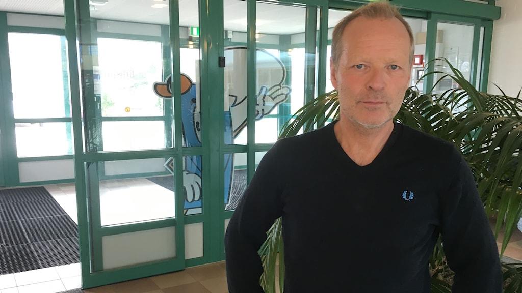 Ronny Mattsson skolområdeschef Knut Hahnsskolan Ronneby