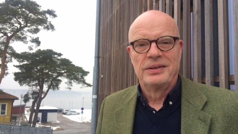 Anders Hederstierna, rektor på BTH.