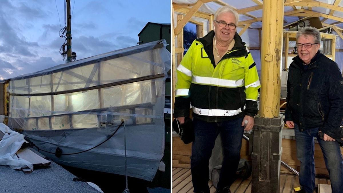 Båten Edit Stefan Edwards och Bengt Svensson