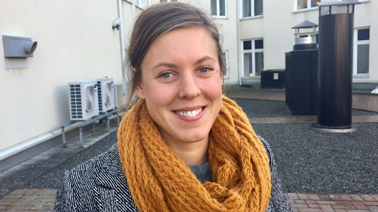 Annie Lees, brottsförebyggande samordnare på Länsstyrelsen i Blekinge.