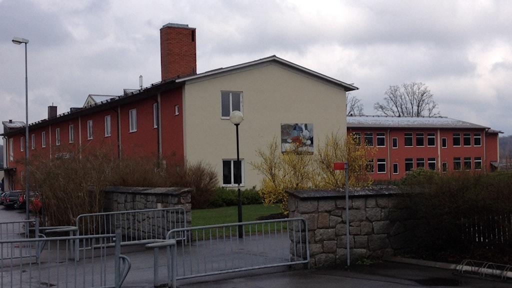 Högavångskolan, Olofström, skolgård