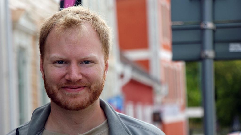 Olle Hilborn från Miljöpartiet i Karlskrona