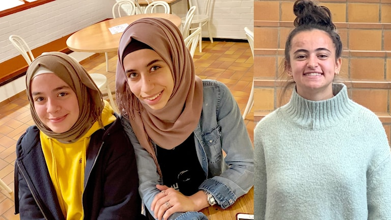 Dania Alhomsi, Zeinab Ammar och Amina Kurtisi