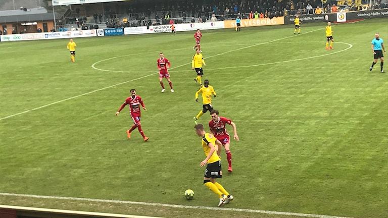 Mjällby AIF mot Skövde.