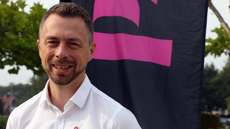 Erik Ohlson från Vänsterpartiet.