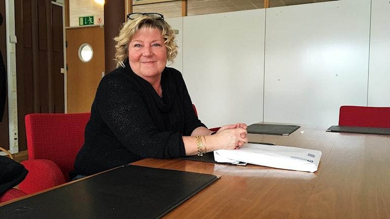 Åsa Evaldsson (M), ordförande Socialnämnden Ronneby.