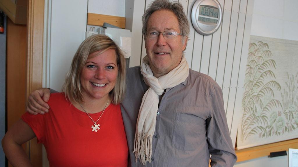 Rebecka Gyllin och Mats Andersson