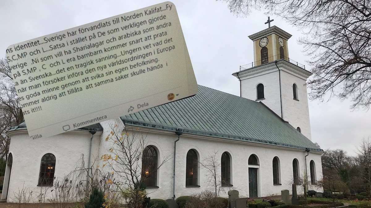 Skärmdump. Kyrkoherde Ivan Knezy. Mörrums kyrka