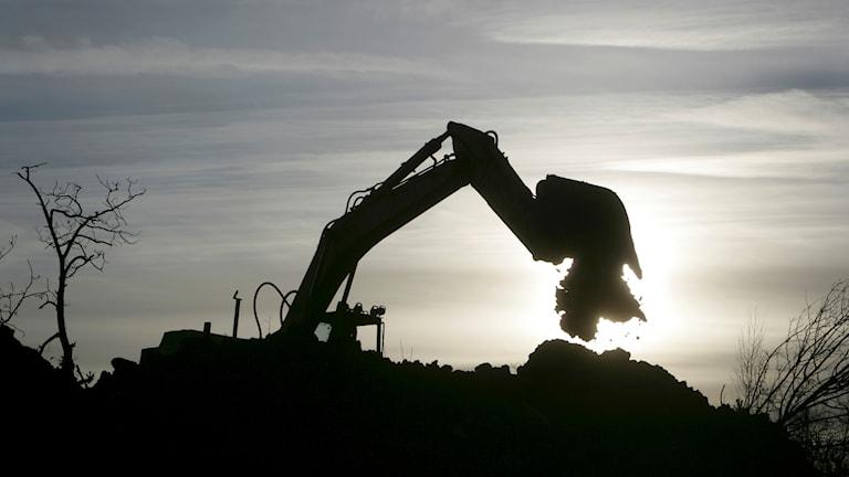 grävskopa