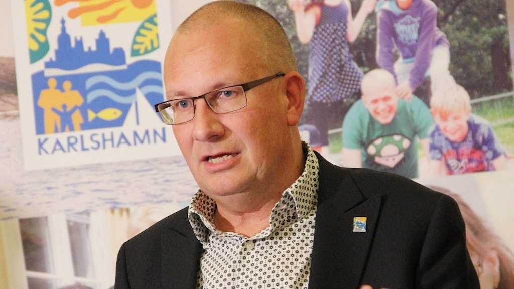 Daniel Wäppling, kommundirektör i Karlshamn