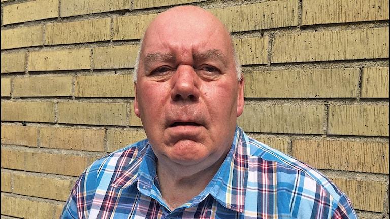 En bild på Rolf Engström som vill att Sölvesborgs kommun inför medborgarförslag.