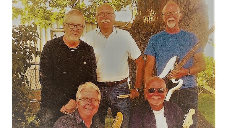 Roland Nilsson gitarr/sång, Kjell Nilsson bas/sång, Bengt-Allan Heideman gitarr/sång, Sonny Sandin Klaviatur /sång och Erik Olsson trummor