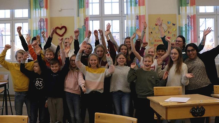 Fredriksbergsskolan 5C Vi i femman