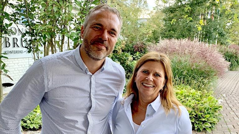 Ola Gren VA-chef Karlskrona och Emma Abrahamsson Akrab