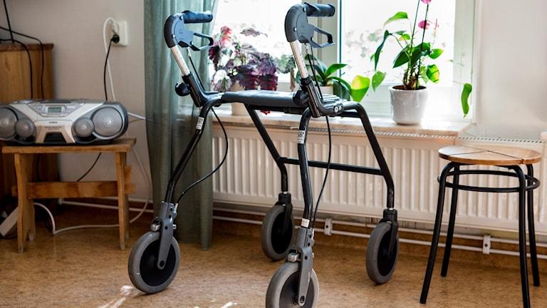 rullator på äldreboende