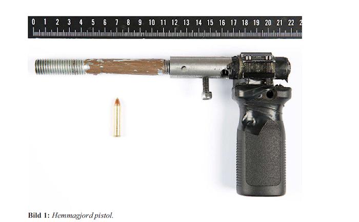 Bild av hemmagjord pistol.