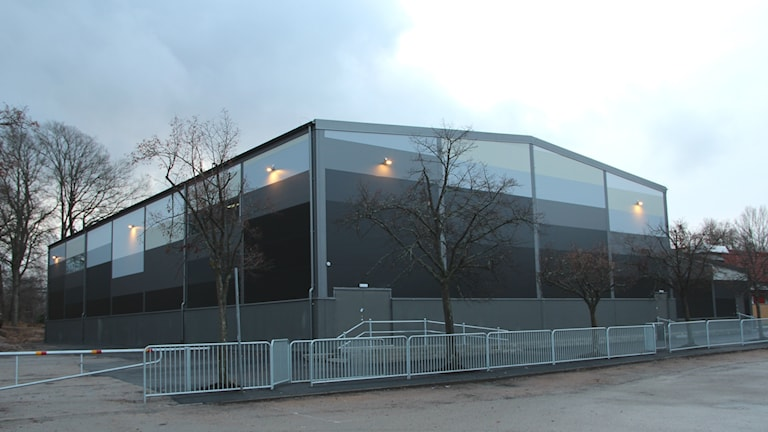 Den nybyggda Vedebyhallen. Foto: Mikael Eriksson/Sveriges Radio