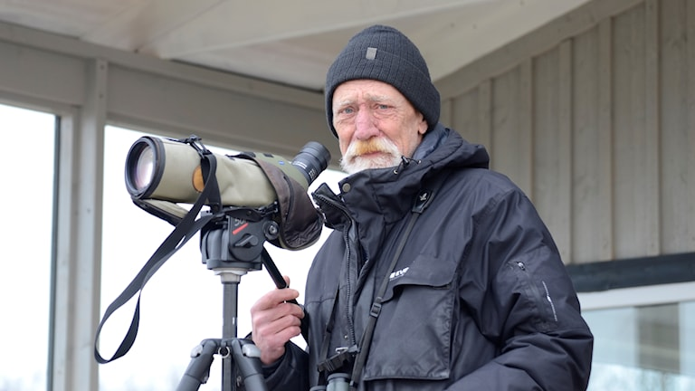 Fågelskådare Thomas Rodesson.