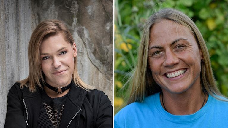 Saga Becker och Leonora Vilhelmson