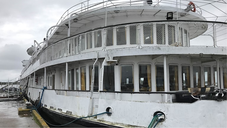 En bild på Studentfartyget MS Hansa