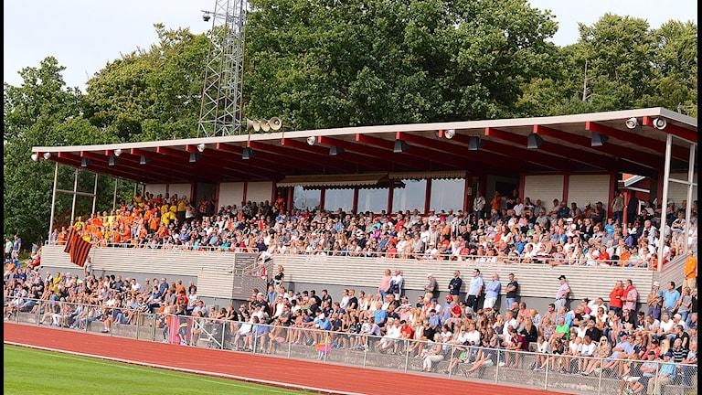 Publik 1 456 på Västra Mark.