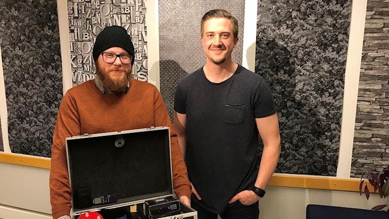 Charlie Svensson  och Fredrik Thuresson.