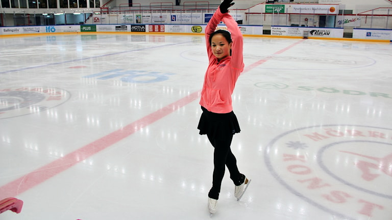 Emma Kivioja, silvermedalj i junior-SM 2016, Mörrum KK