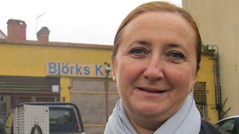 Stadsarkitekt Emina Kovacic.