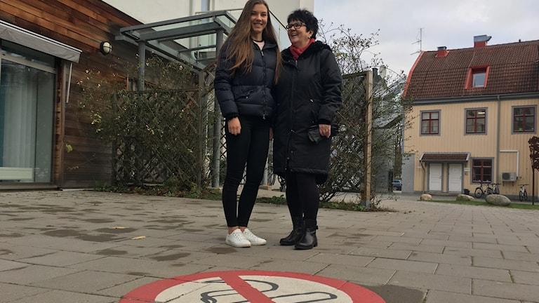 Föreläsare Elin Brinkehed och Eva Dalhberg folkhälsostrateg i Karlskrona kommun.