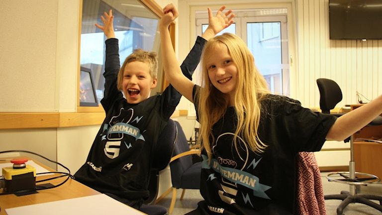 Rasmus Ottosson och Amanda Glader