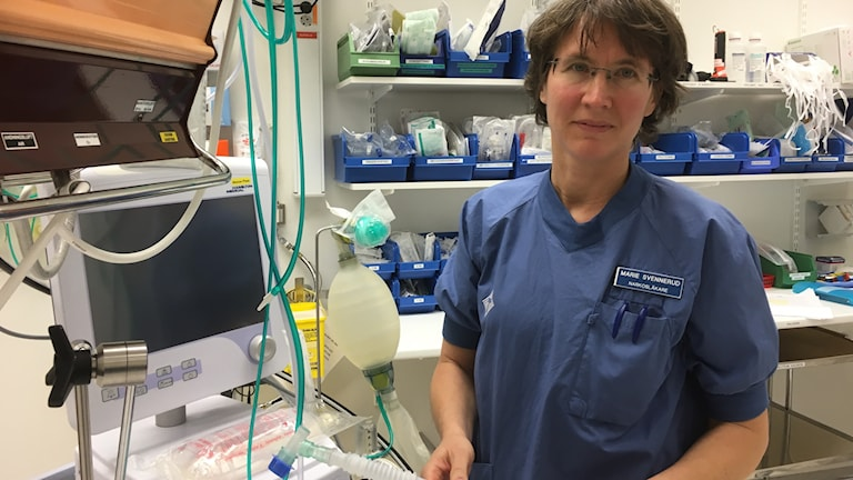 Marie Svennerud donationsansvarig läkare Blekinge