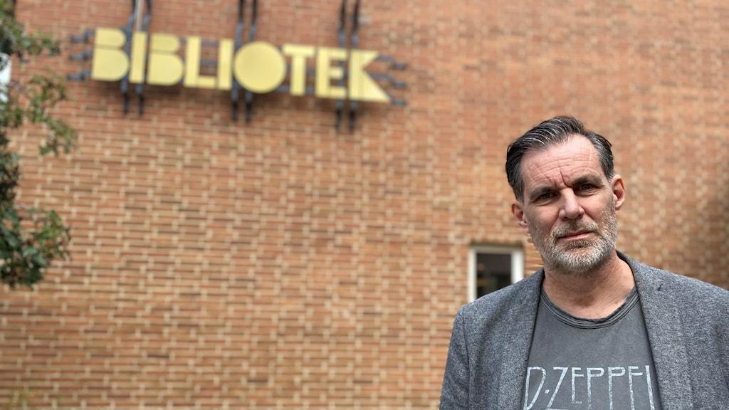 Anders Nylander, kultur- och bibliotekschef Sölvesborg