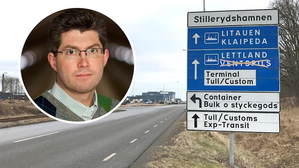 Johan Dalén regionchef på Svenskt Näringsliv i Blekinge.