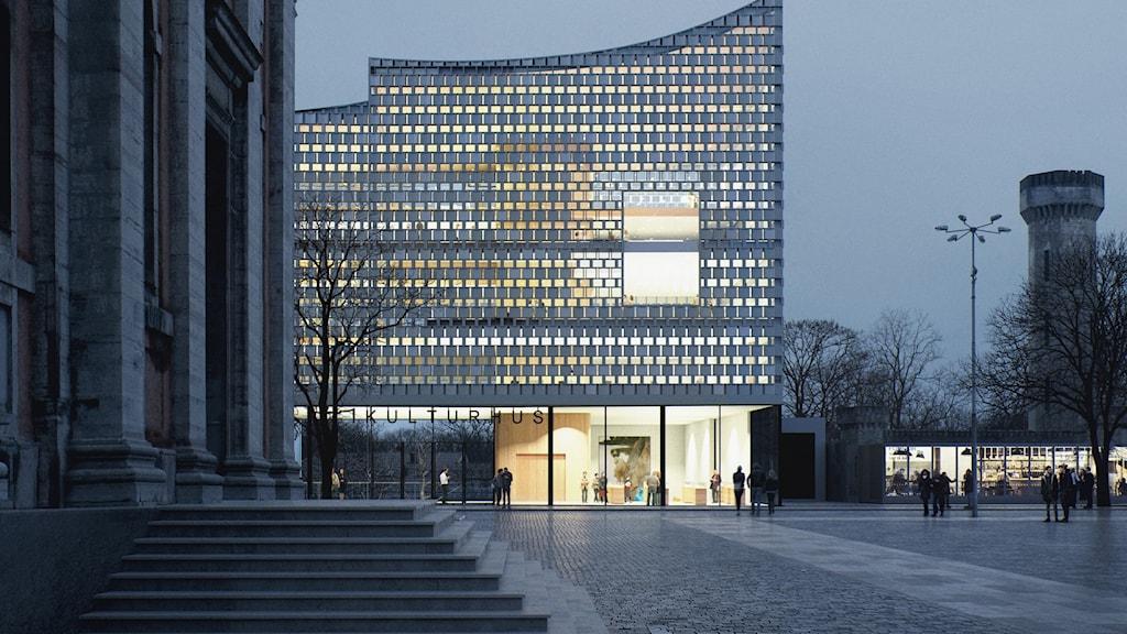 Karls krona, Karlskronas nya kulturhus.