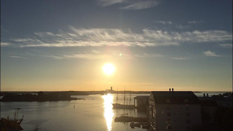 Sol över Stumholmen
