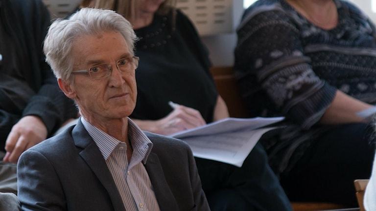 Robert Lindén, ordförande för SD i Sölvesborg.