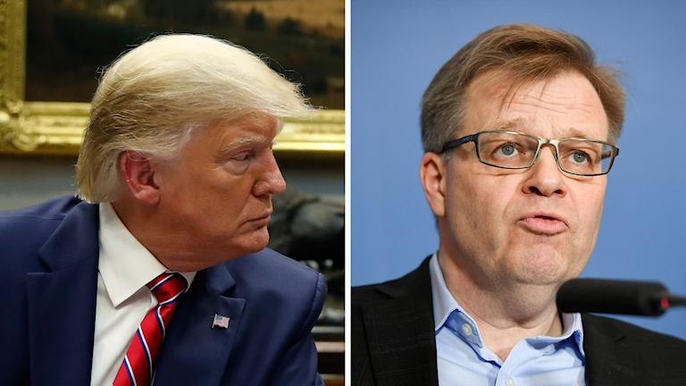 Donald Trump och Per-Ola Mattsson