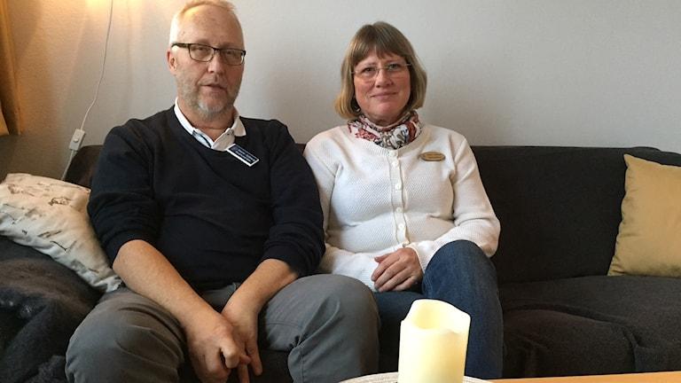Glenn Sjöberg och Maria Olofsson