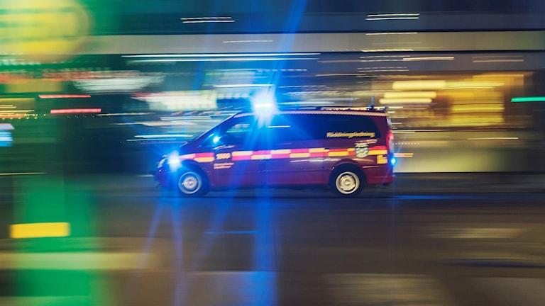 Räddningstjänst under uttryckning