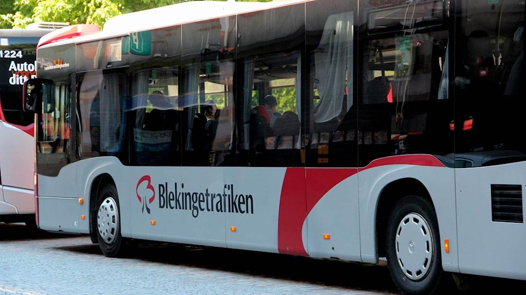 En av Blekingetrafikens bussar